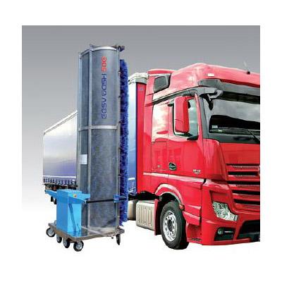 Едночеткови автомивки за измиване на товарни автомобили, автобуси, камиони, влакове: