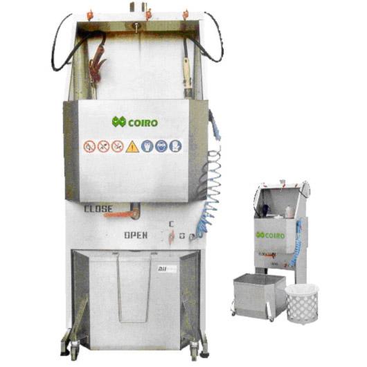 Спомагателно оборудване за бояджийски цехове COIRO – Италия и A.N.I. - Италия