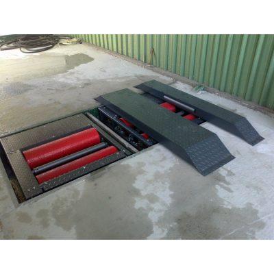 Комплексни линии за тестване на спирачната система на мотоциклети, автомобили, камиони и ATV.