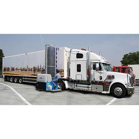 Автономни едночеткови автомивки за измиване на товарни автомобили, автобуси и влакове