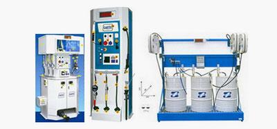 Оборудване за масла, греси и други флуиди GARTEC Италия
