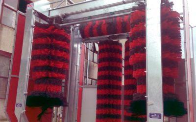 ИНТЕРБУЛИТ ЕКИП ЕООД  достави,  монтира и пусна в експлоатация  първото и единствено в България комбинирано съоръжение  за външно автоматично измиване на автоцистерни и камиони