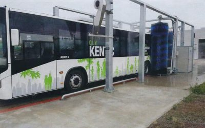 ИНТЕРБУЛИТ ЕКИП ЕООД  достави,  монтира и пусна в експлоатация специализирана автомивка за измиване на автобуси
