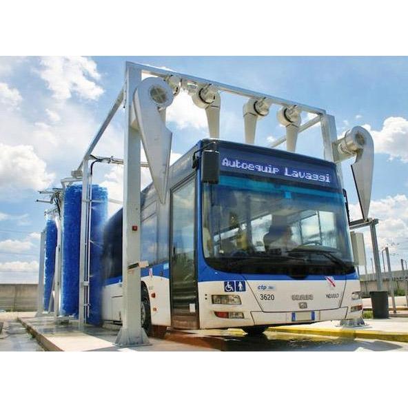 Автоматични автомивки за камиони, автобуси и автоцистерни