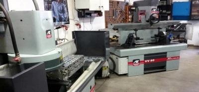 Металорежещи машини за обработка на двигатели и ходова част AZ Италия